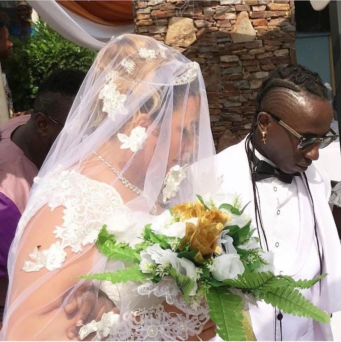 Video: Patapaa Marries his German Girlfriend Liha Miller