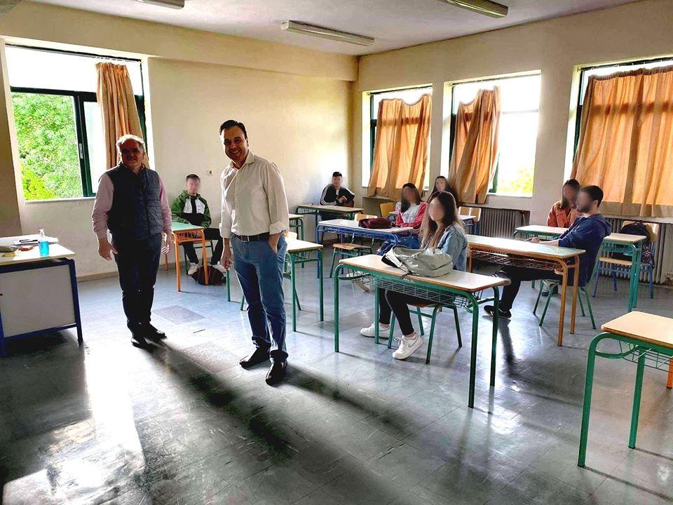 Με ασφάλεια ξανά μαθήματα στα σχολεία του Δήμου Τρικκαίων