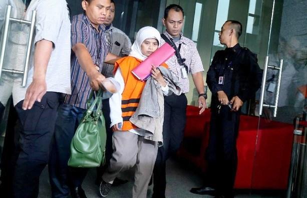 Anggota DPRD Kebumen, Dian Lestari, Ditahan KPK Usai Diperiksa