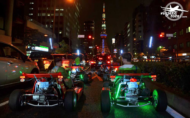 Mario Kart en las calles de Tokio, Japón