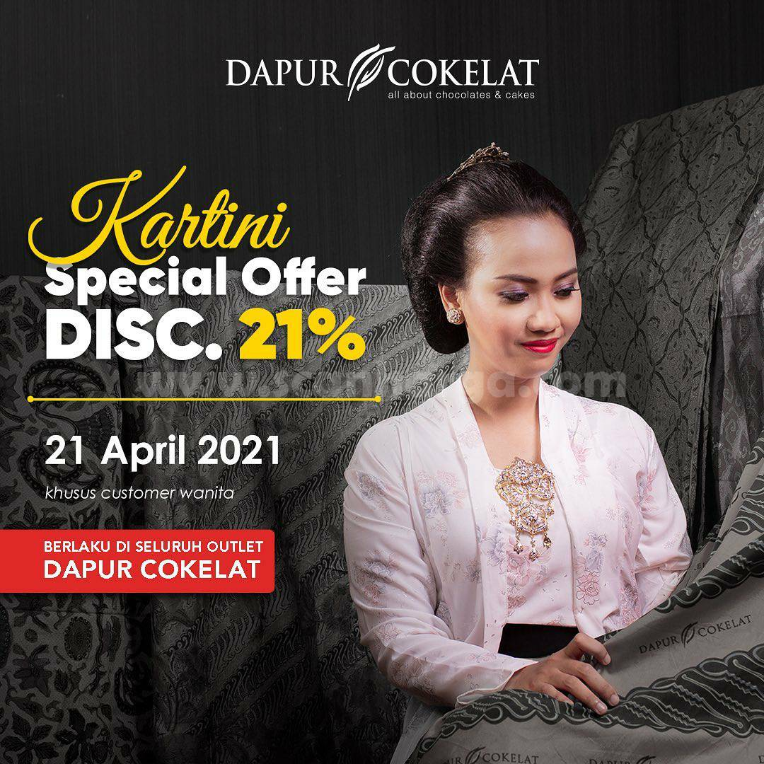 Promo Dapur Cokelat KARTINI Special Offer Diskon 21%