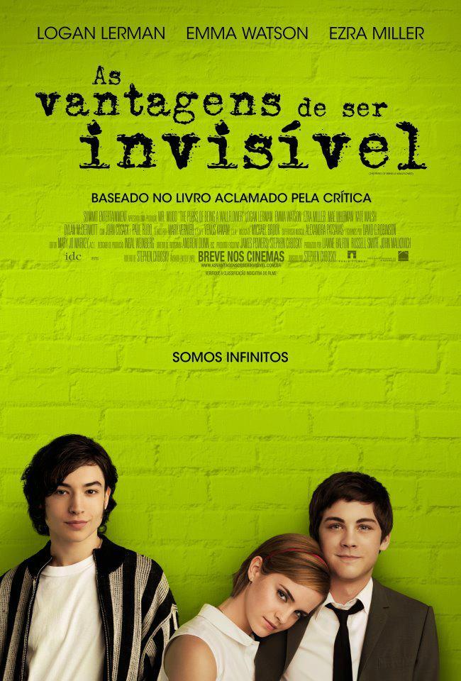 Cinema: As Vantagens de Ser Invisível