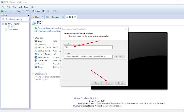Cara Clone VMware terbaru