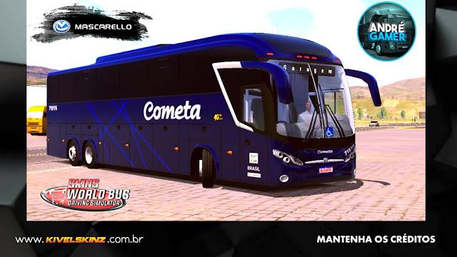 MASCARELLO ROMA R8 - VIAÇÃO COMETA