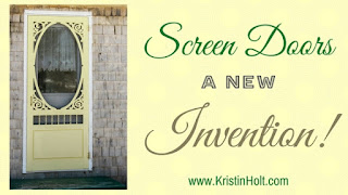 Kristin Holt | Screen Doors: A New Invention!