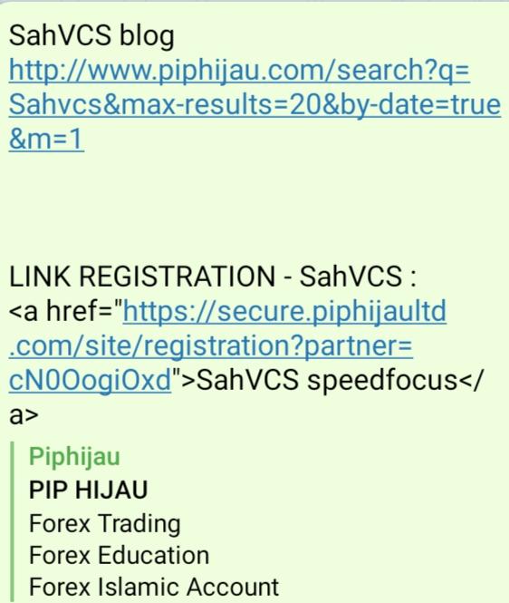 SahVCS menerangkan cara pendaftaran langkah pertama.