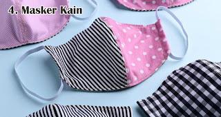 Masker Kain merupakan salah satu trend souvenir natal tahun 2020