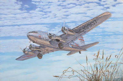Model No. 339 Boeing 307 Stratoliner, scale 1:144 picture 2