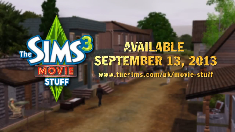 the sims 3 movie stuff trailer game video world. Black Bedroom Furniture Sets. Home Design Ideas