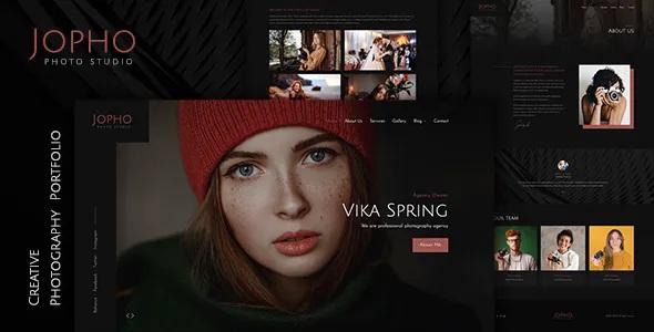 Best Creative Photography Portfolio Theme