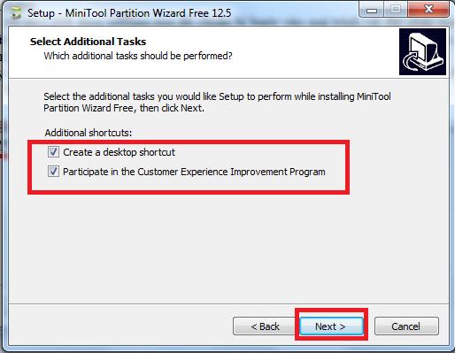 Hướng dẫn cách download, cài đặt và sử dụng phần mềm MiniTools Partition Wizard để chia ổ cứng máy tính e