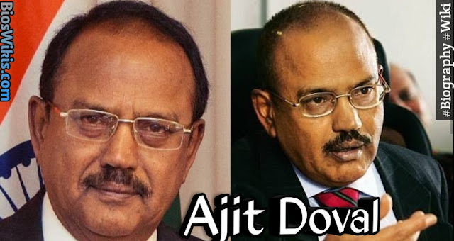 Ajit Doval Biography, Wiki, Wife, Age, Facts abd more