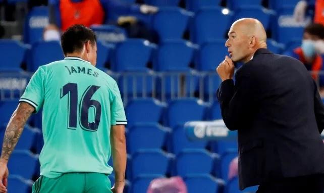 رسميا..ريال مدريد: يحسم  حساباته اتجاه جيمس رودريغيز