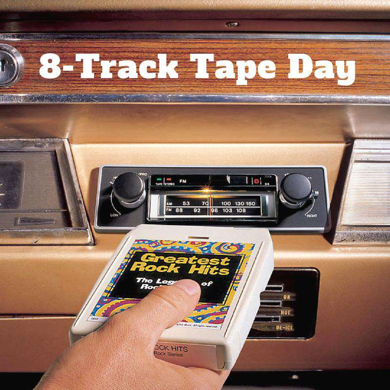 National Eight Track Tape Day Wishes pics free download