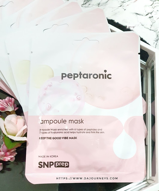 [Review] SNP Prep Peptaronic Ampoule Mask