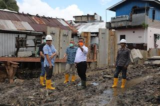 Peninjauan Ke Sungai Sebengkok Yang Terletak di Belakang Pasar Batu - Tarakan Info