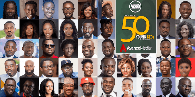 2020 Top 50 Young CEOs in Ghana list announced