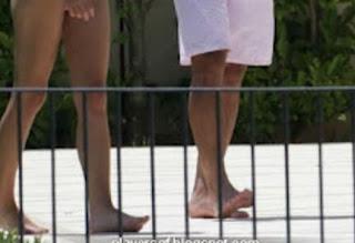 Rafael Nadal And His Romantic Wife Maria Francisca Perell Walking