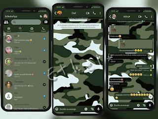 Military Theme For YOWhatsApp & MC WhatsApp By Ethel