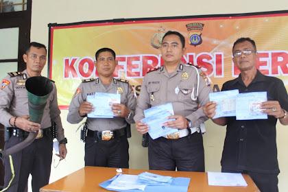 Kenakan Knalpot Blombong Saat Konvoi, Sebanyak 34 Pengendara Ditilang Petugas