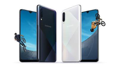 Samsung Galaxy A30s, Galaxy A50s