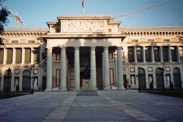 Monuments Of World Prado Museum Madrid Spain