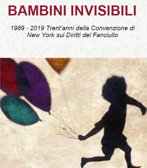 """""""Bambini invisibili"""", l'11 gennaio il convegno a Foggia"""