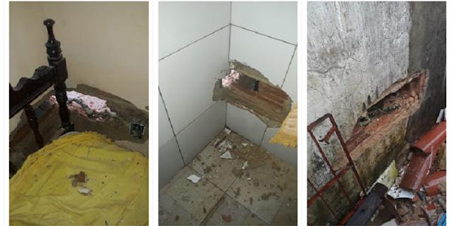 Residência é atingida por raio em Parnaíba/PI