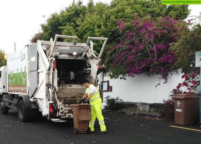 El Consorcio de Servicios recogió 486 toneladas de residuos orgánicos en 2018