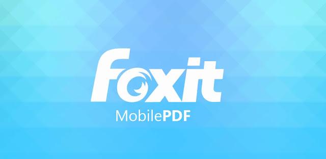 تحميل تطبيق FOXIT PDF READER MOBILE  للايفون و الايباد اخر