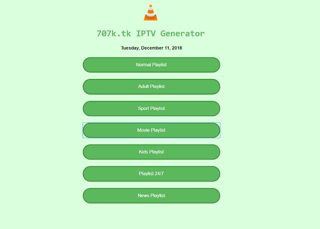 موقع مولد IPTV جديد لكل القنوات المشفرة يمكنك تحميل IPTV لأي قنوات تريد مشاهدتها