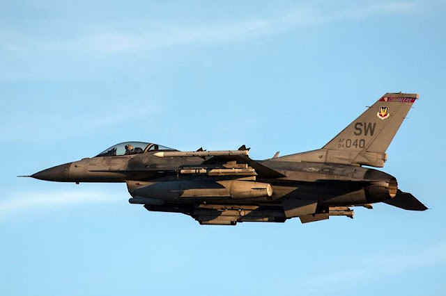F-16 crashes Shaw Air Base