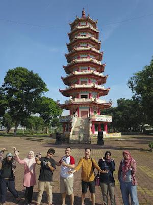 Pagoda bertingkat 9 di Pulau Kemaro