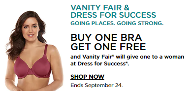 6030a2c3c6 Kohl s  BOGO Free Vanity Fair Bras! Kohls  Card-Holder Gets Extra 30 ...