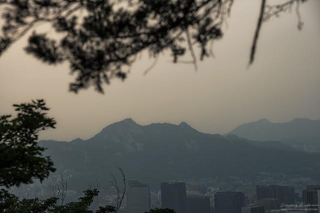 Сеул. Национальный парк Намсан. Вид на Сеул