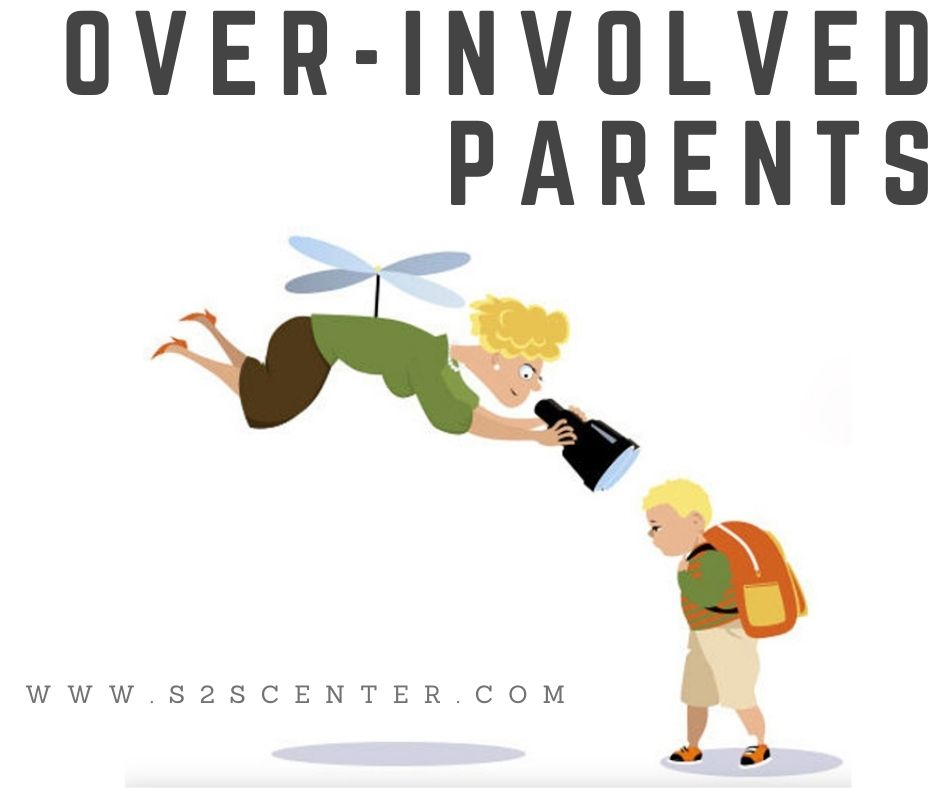 Over-involved parents