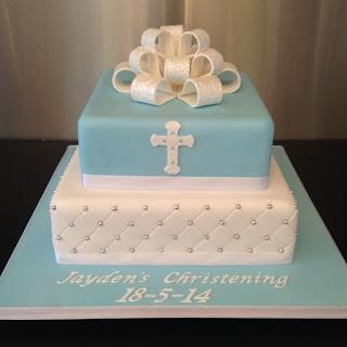 Dica de bolo de batizado