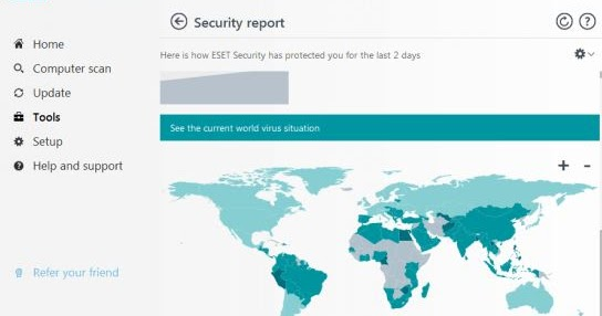 Serial Number Update ESET NOD32 Antivirus ESET Internet ...