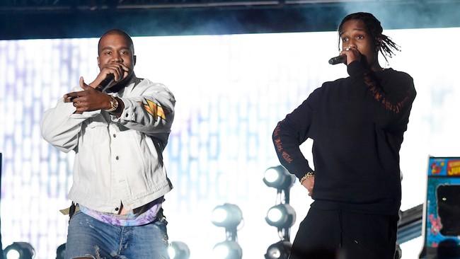 ASAP Rocky's Kanye West Feat. Leaks Online - Listen