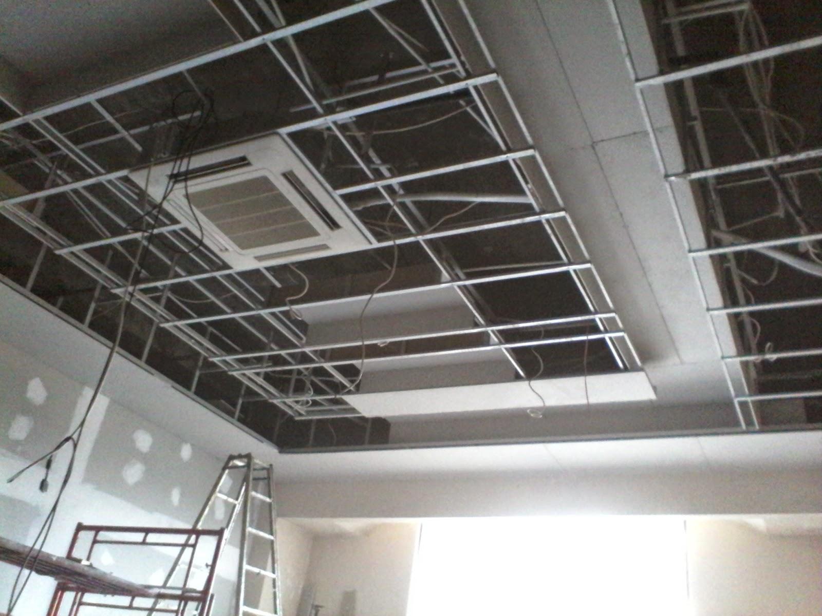 atap rumah baja ringan atau kayu jasa tukang plafon gypsum pamekasan dan sekitarnya
