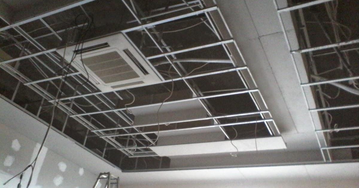 rangka plafon baja ringan minimalis baru 34