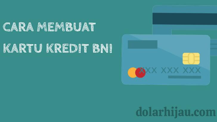 cara membuat kartu kredit BNI secara online