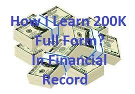How I Learn 200K Full Form