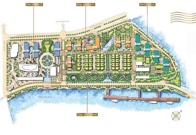 Plans Vinhomes Golden River