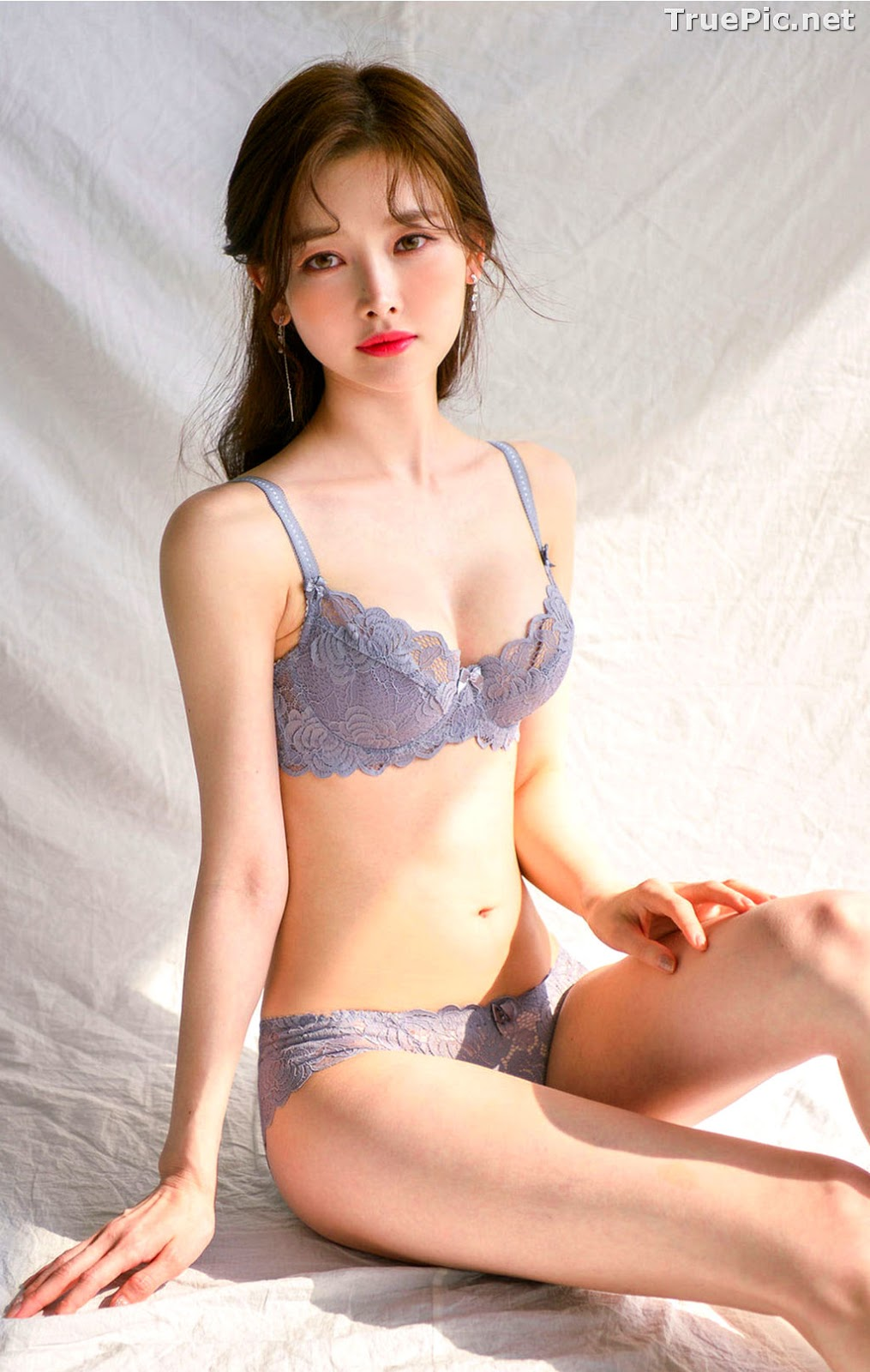 Image Korean Fashion Model - Kim Hee Jeong - Lingerie Gift for You - TruePic.net - Picture-1