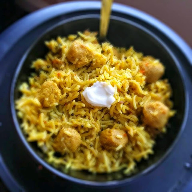 Soya PulavFlavors Of Rice