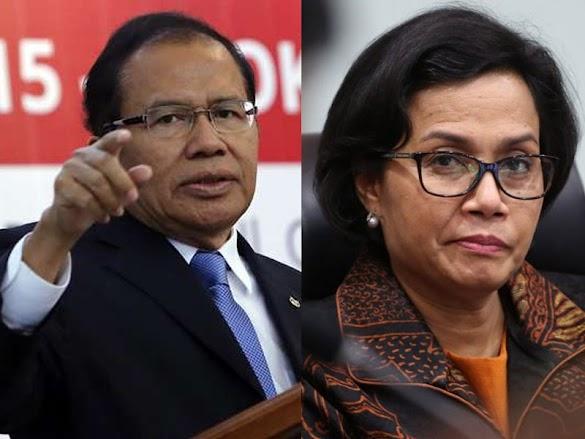 Pas, Debat Sri Mulyani-Rizal Ramli Dimoderatori Jokowi