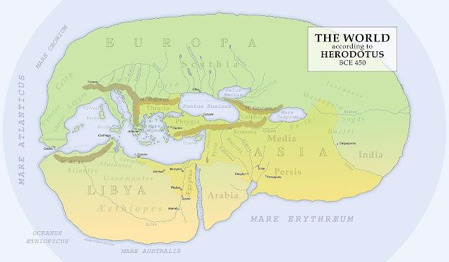 Heredot ve Dünya Haritası