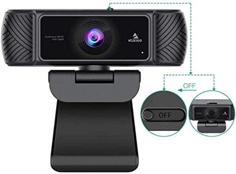 NexiGo Business Streaming USB Web Camera