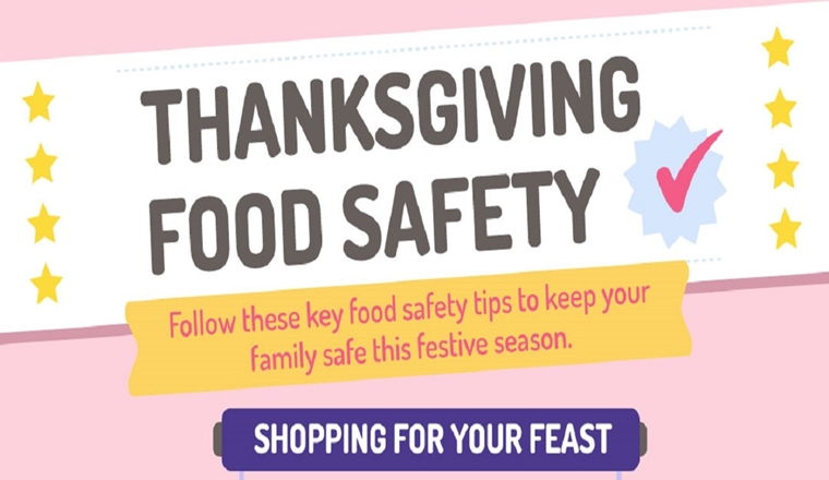 Thanksgiving Food Safety #infographic